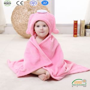 Cheap Cute Design Coral Fleece Baby Blanket pictures & photos