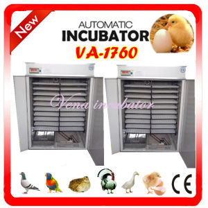 CE Approved Commercial Automatic Duck Egg Incubator pictures & photos