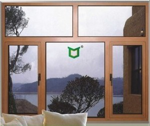 Double Glazed Aluminum Swing Window