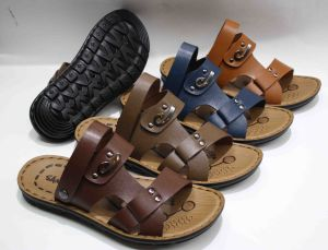 Hot Sale Classic Men Beach Sandal with PU Outsole (SNB-12-009) pictures & photos