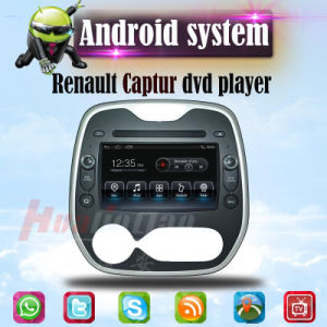 Car Audio for Renault Captur Android System GPS DVD Player 3G WiFi pictures & photos