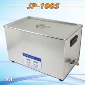Top Qulaity with Low Price Ultrasonic Washer Best Ultrasonic Cleaner in China Jp-100s, 30L, Digital pictures & photos