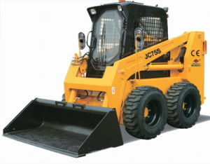 Construction Equipment, Loader, Dumper. (JC75) Rated Load 1050kg 75HP Skid Steer