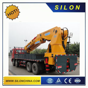 6.3ton Truck Mounted Crane Sq6.3zk3q with Flodable Boom pictures & photos
