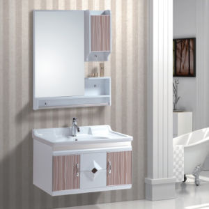 High Gloss Bathroom Cabinet with Wash Basin pictures & photos