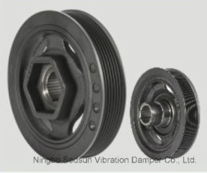 Torsional Vibration Damper / Crankshaft Pulley for Honda 13810rnaa02 pictures & photos