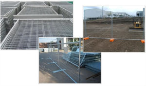 The High Zinc Coating Temporary Fence pictures & photos