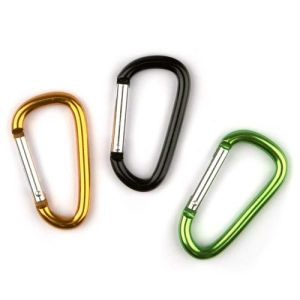 Aluminum Carabiner D-Ring Clip Climbing Hook pictures & photos