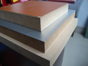 Melamine Laminated MDF Fiber Board pictures & photos
