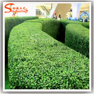 New Artificial Plastic Green Wall Fake Lawn with Best Quality pictures & photos
