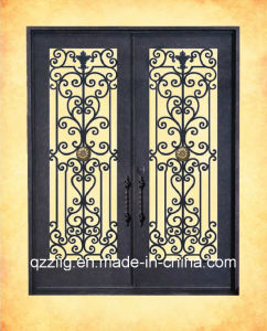 High Quality Wrought Iron Double Door