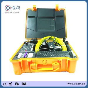 "10"" Colourful Monitor Pipe Inspection Camera Equipment with Meter Counter pictures & photos"