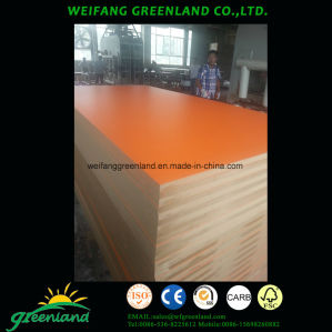 18mm Smooth Finish Laminated MDF pictures & photos