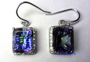 Popular 925 Sterling Silver Quartz Jewelry Earrings pictures & photos
