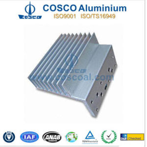 Customized Clear Anodized Aluminium/Aluminum Radiator pictures & photos
