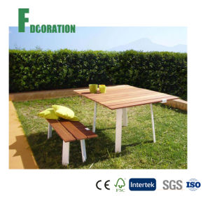 Eco Composite Wood Outdoor WPC Table for Garden & Park
