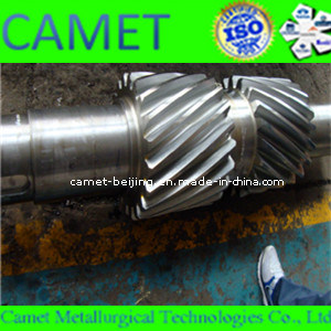 Double Helical Gear Shaft for Heavy Machine pictures & photos