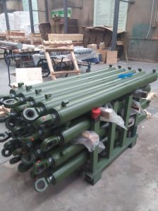 Single-Acting Telescopic Cylinder Type Hydraulic Cylinder for Agricultural Machinery Cylinder pictures & photos