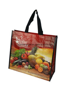 China Factory Customized Cheap Laminated PP Woven Shopping Bag pictures & photos