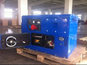 Silent Type China Big Power 10kw Diesel Generator with CE pictures & photos