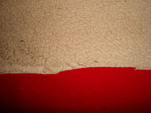 Polar Fleece Bonded Polar Fleece Fabric pictures & photos