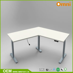 Two Motors Three Segments 120 Degree Electric Height Adjustable Table pictures & photos