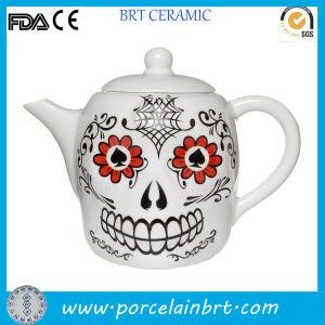 Oriental Unique Skull Handmade Tea Pot pictures & photos