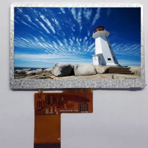 4.3-Inch 480 RGB X 272 Dots TFT LCD Module with Controller Hx8257A01-C (VTT-430WQ03)