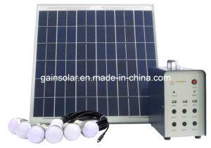 Plug & Play Portable 35W Solar Lighting System