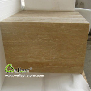 T112 Golden Travertine Tile for Interior Floor and Wall Decor pictures & photos