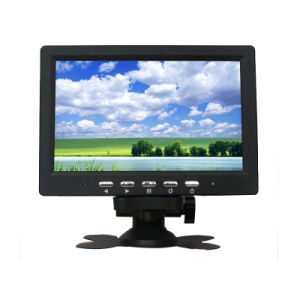 7inch Car Monitor / CCTV Monitor with AV or BNC pictures & photos