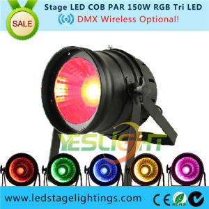 DMX Wireless Stage LED PAR Light 150W RGB COB CREE LED for Stage Effect Light pictures & photos