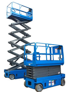 Hydraulic Aerial Mobile Work Scissor Lift with CE pictures & photos