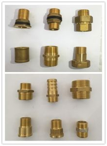 High Quality Brass Connect Pipe Fitting (YD-6007) pictures & photos