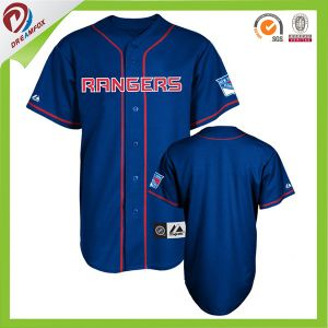 New Products Wholesales Sublimated Printing Sublimation Baseball Jersey pictures & photos