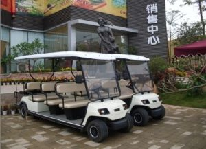 11 Seaters Electric Sightseeing Car on Sale (Lt_A8+3) pictures & photos