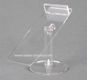 Clear Acrylic Shoe Rack Display Btr-G1121 pictures & photos