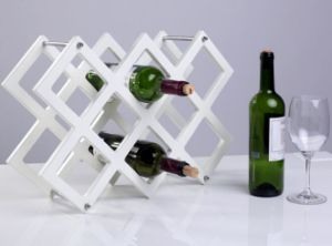 Simple Style Solid Wooden Wine Rack pictures & photos