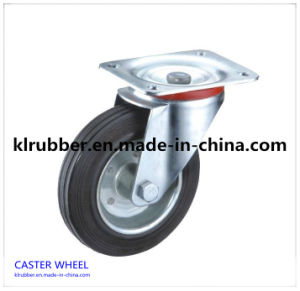"2"" Rubber Swivel Casters Wheel pictures & photos"
