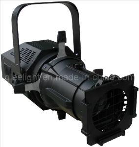 150W / 120W COB White LED Profile Spotlight / Ellipsoidals Gobo Projector
