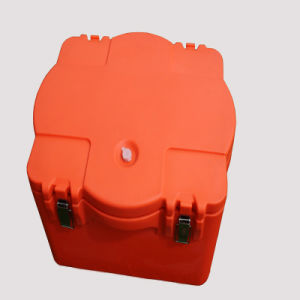 Plastic Round Cooler Box Insulated Cooler Box for Picnic pictures & photos