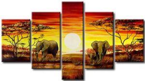 Africa Handmade Group Painting