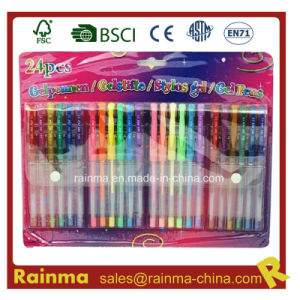 24PCS Gel Ink Pet Set for School and Office pictures & photos
