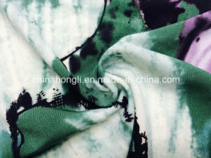 Ity Fashion Printing T/Sp Twist Yarn Single Jersey Knitted Fabric with High Quality pictures & photos