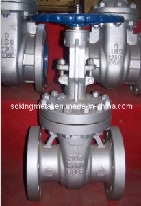 Mss Sp-70 Cast Iron Non-Rising Stem Gate Valve with CE pictures & photos