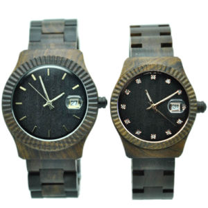 Hot Sale Couple Wooden Watch pictures & photos