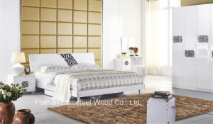5 Pieces Fashion Wooden Bedroom Furniture Set pictures & photos