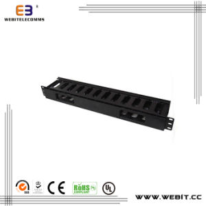1u Plastic Cable Management with Cover (WB-CA-05) pictures & photos