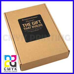 Kraft Paper Box for Gift Packaging pictures & photos