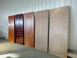 MDF Door Manufacturer / European Style Interior PVC Door pictures & photos